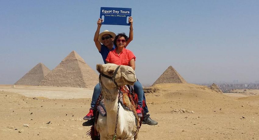 Giza Pyramids tour with cairo travel