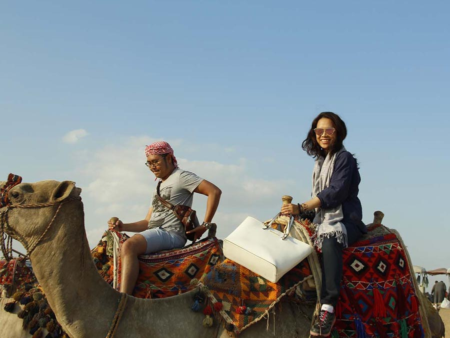 camel ride tour
