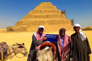 Pyramids, Memphis and Sakkara layover tour