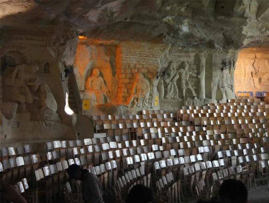 Cave Church tour in Cairo